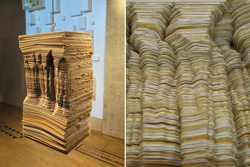 Paper Sculptures by Maud Vantours 20 Paper Sculptures by Maud Vantours