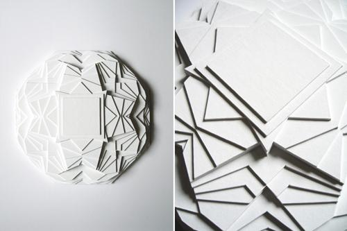 Paper Sculptures by Maud Vantours 25 Paper Sculptures by Maud Vantours