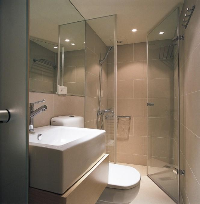 Small Space Bathroom Design Ideas: Small Space Design: A 498 Square Feet House In Taiwan